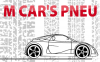 Logo M Car's Pneu